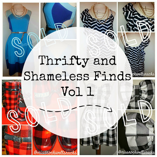 Thrifty and Shameless Finds: Vol 1