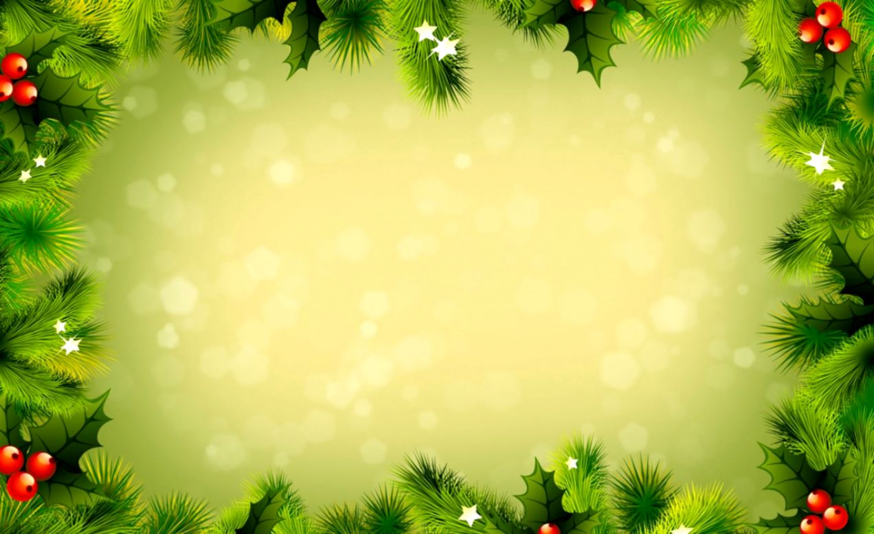 Cowboy Christmas Powerpoint Template
