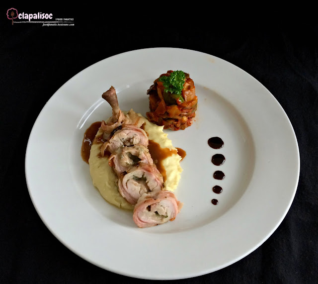 Tournedos of Herbed and Cheese Stuffed Chicken from City Garden Hotel Makati