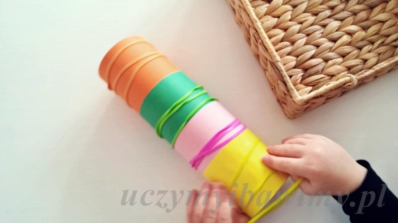 Nauka kolorów - dziecko