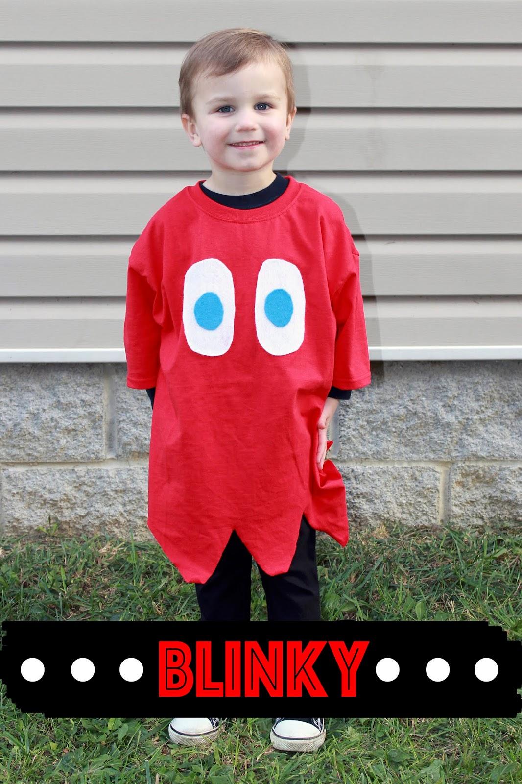 DIY No Sew Pac Man Family Costume , DIY Pac Man Family Costume,