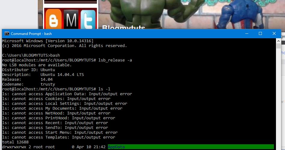 how to run ubuntu on windows