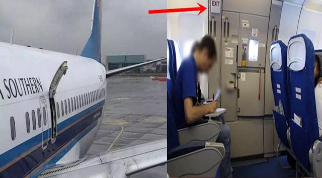 Dikira Toilet, Penumpang Kebelet Buka Pintu Kabin Pesawat Sedang Terbang