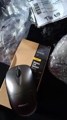 Bukti Pembelian Mouse dari Aplikasi Akulaku