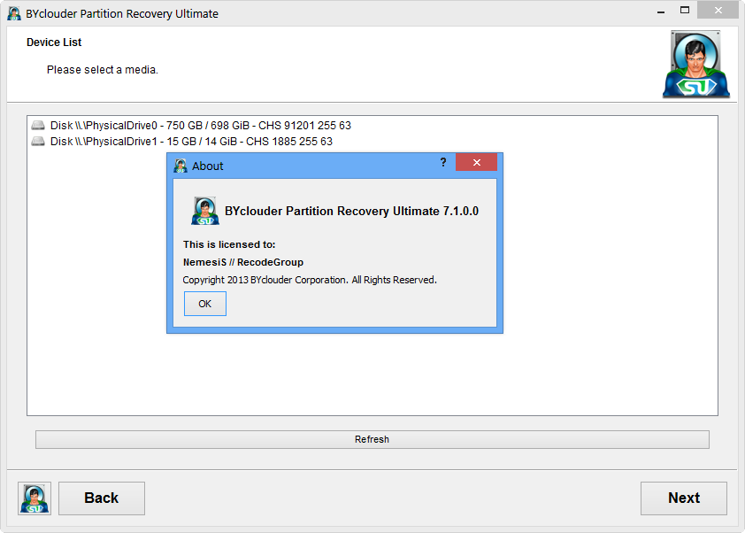 BYCLOUDER PARTITION RECOVERY ULTIMATE 7 1 0 СКАЧАТЬ БЕСПЛАТНО