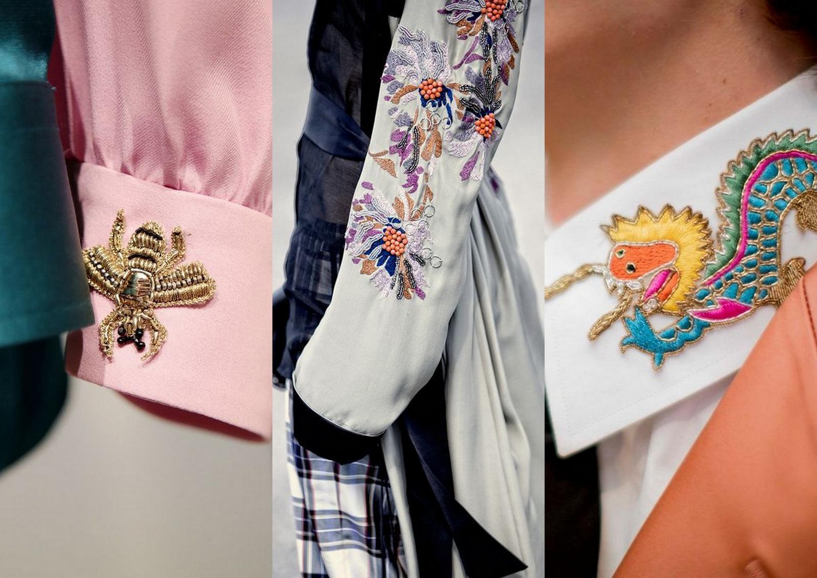 fashion trend: výšivky, nášivky // trend, ktorý nemôže chýbať vo vašom letnom šatníku