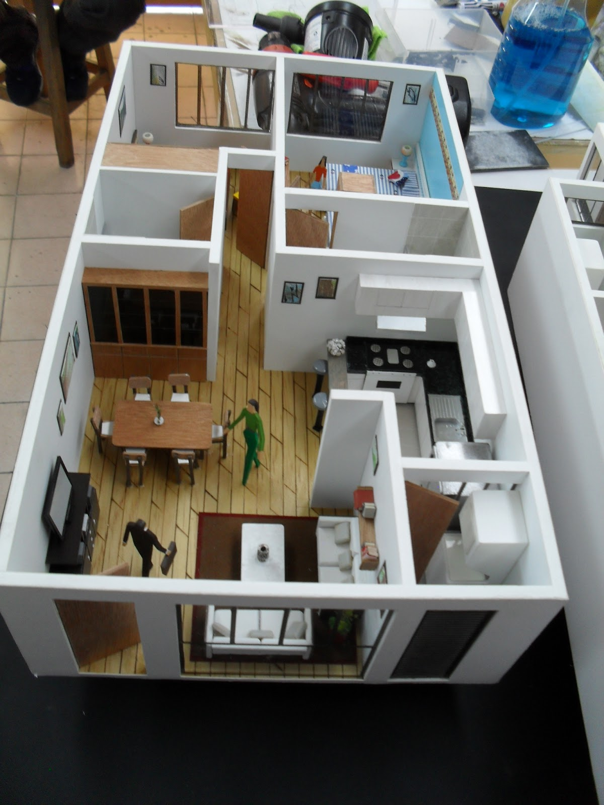 Bedroom Interior Plan