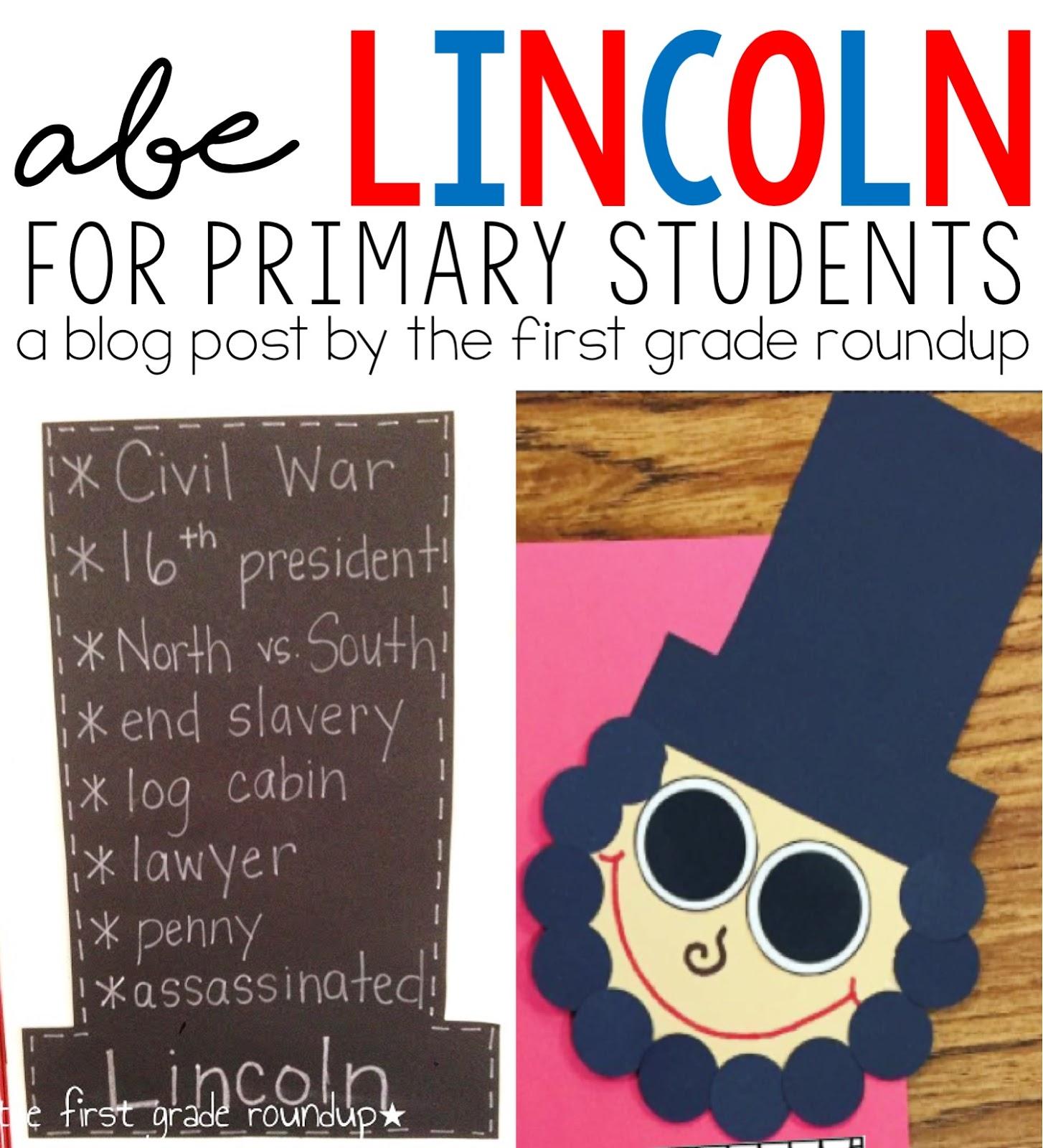 Abraham Lincoln 1st Grade