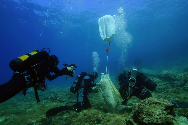 Eight new shipwrecks discovered in Greece's Fourni archipelago
