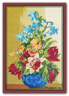 "Download embroidery scheme Rogoblen 7.66 ""Freshness"""