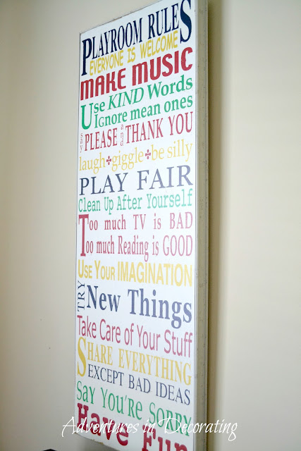 Adventures In Decorating A Little Playroom Grows Up Just