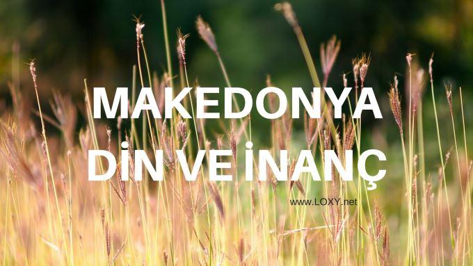 makedonya dini