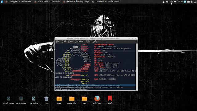 Cara Mudah Melihat Password Wifi yang Tersimpan Melalui Terminal Linux