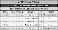 LOTECA 700 - HISTÓRICO JOGO 09