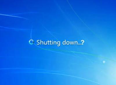 Shutdown Otomatis Komputer/Laptop Windows XP 7 8