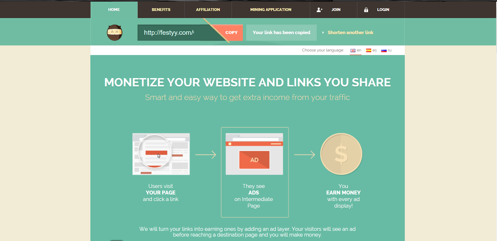 Best URL Shortener Site For Make Money Online in 2019 - Eazzyone