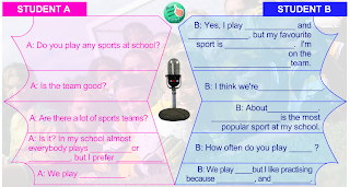 The English Blog 5: Conversation about sports