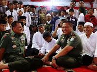 Buka Puasa dan Sholat Tarawih Bersama Anak Yatim Aceh, Panglima TNI Tuai Pujian Netizen