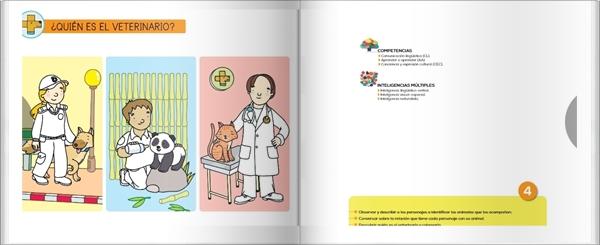 """Proyecto de Educación Infantil de 3 años """"¿Quieres ser veterinario?"""" (Colección """"Quiero aprender"""" de Editorial Bruño)"""