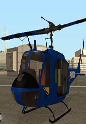 Free Download Bell UH-1 Huey POLICIJA BiH Mod for GTA San Andreas.