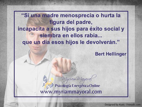Menosprecio o hurto de la figura del padre, Bert Hellinger