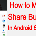 How to make Share Button using Android Studio in Hindi