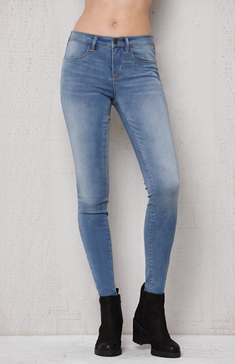 PacSun Splash Blue Dreamy Jeggings