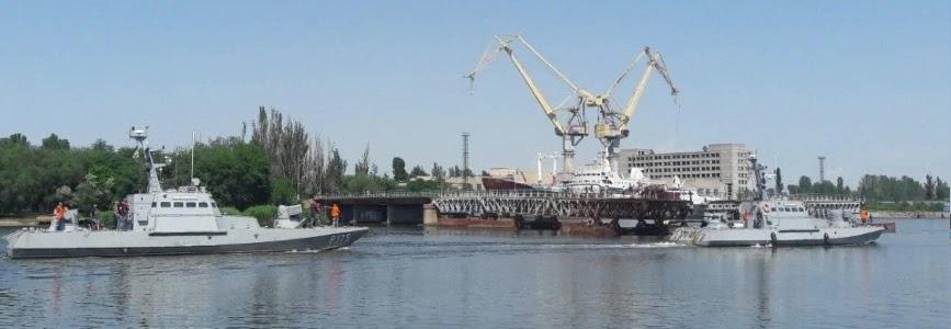 Катери ВМСУ Аккерман і Бердянськ стали на ремонт