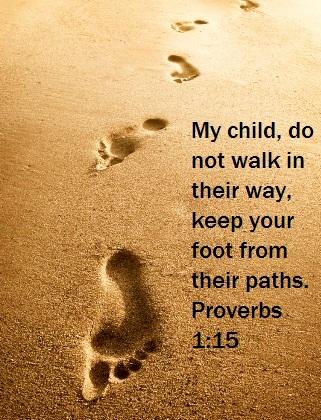 Proverbs 1:15 ~ Planet Weidknecht
