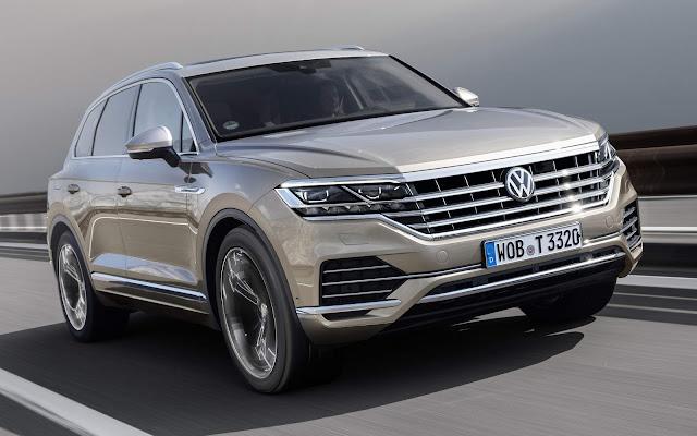 'Novo VW Touareg 2019