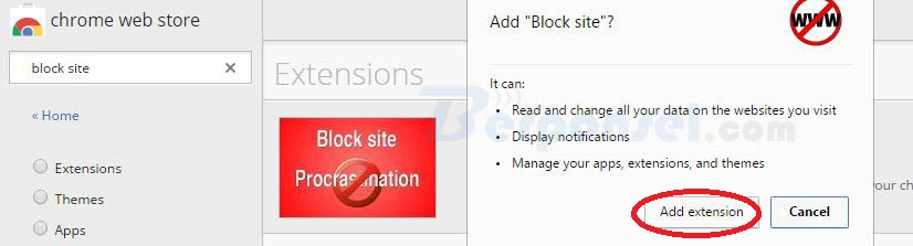 Cara Memblokir Situs di Browser Chrome menggunakan Block site