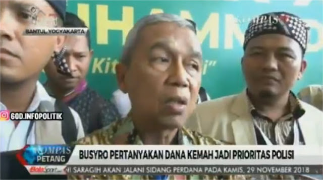 Kasus Dahnil, Eks Ketua KPK Khawatir Aparat Jadi Alat Kekuasaan Menjelang Pemilu