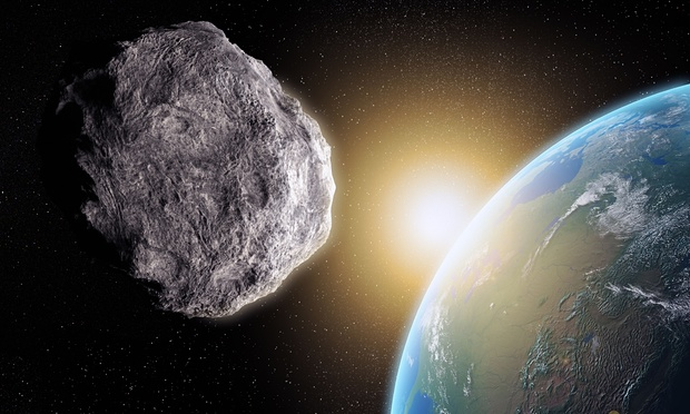 Large asteroid closing in on Earth is not real