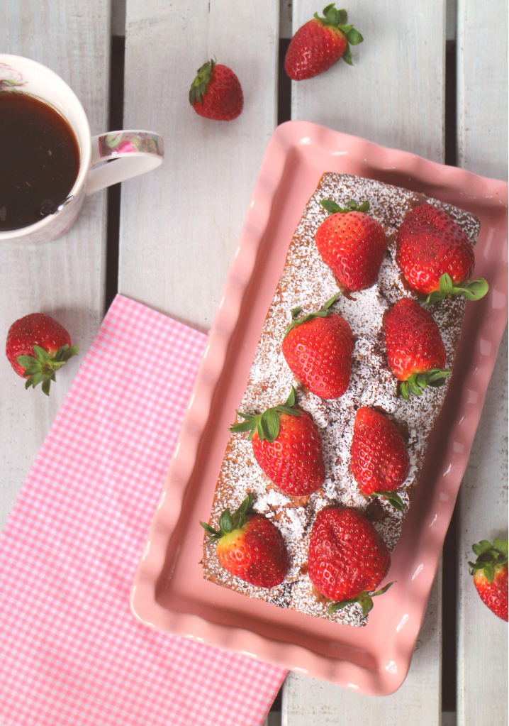 plum-cake-de-fresas, strawberry-cake