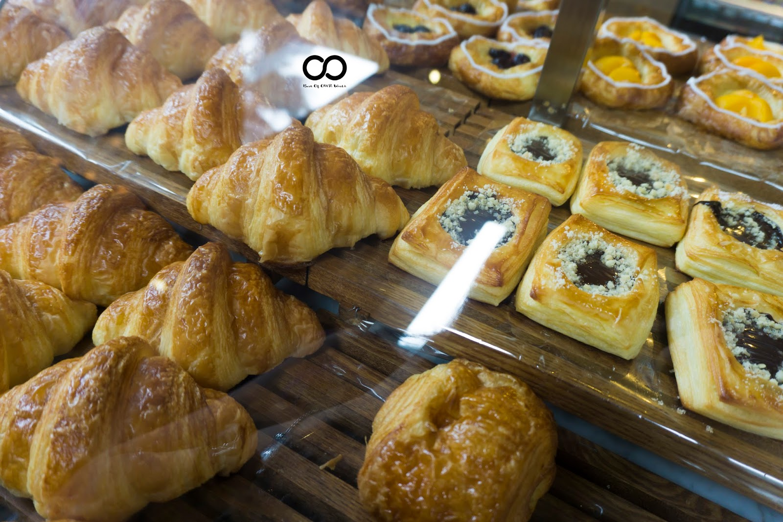 breads, pastries and cakes