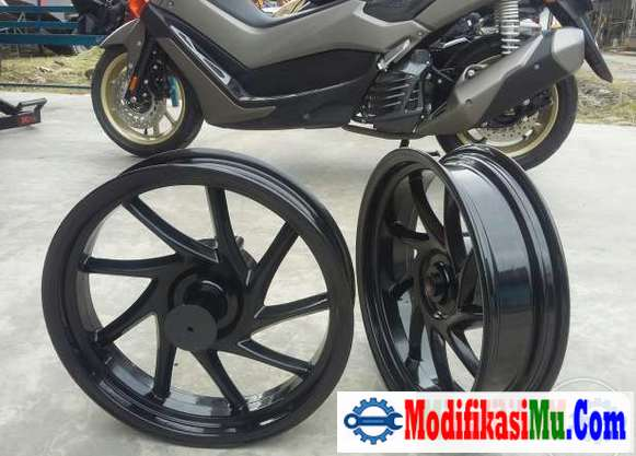 Velg Ukuran Ring 14 Custom Original - 5 Tip Modifikasi Yamaha Nmax Kekar dan Sporti Terbaru Yang Keren Abis