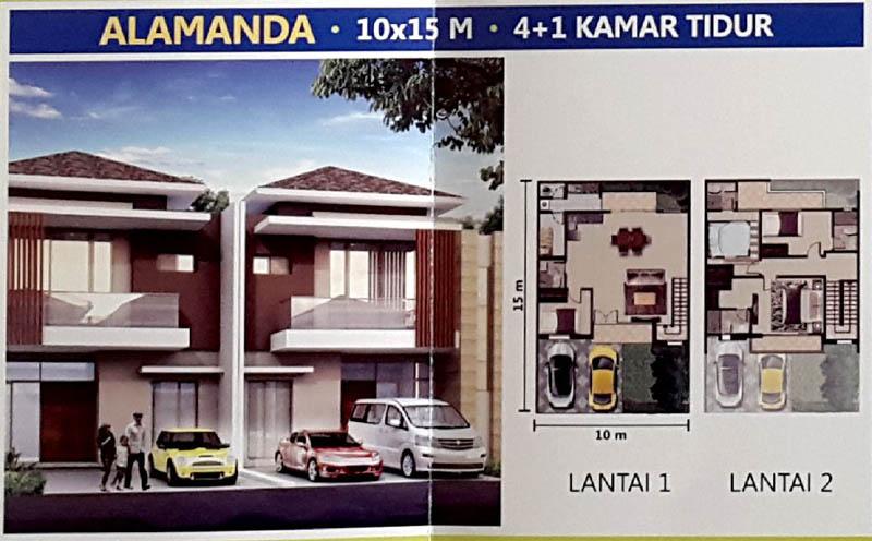 Tipe Alamanda @ PIK 2 Jakarta