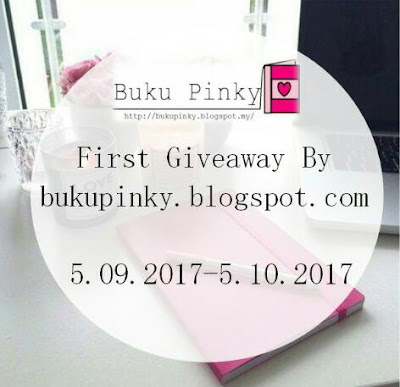 First Giveaway By Blog Buku Pinky!