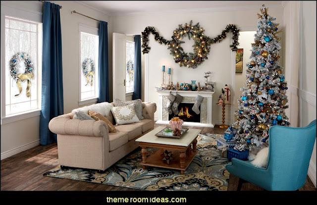 White Christmas penguin bedrooms - polar bear bedrooms - arctic theme bedrooms - winter wonderland theme bedrooms - snow theme decorating ideas - penguin duvet covers - penguin bedding - Snow queen - winter wonderland party ideas - Alaska - White Christmas