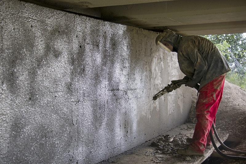 Spray on Concrete