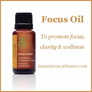 Reviewing Arbonne's Focus Blend - essential oils for concentration