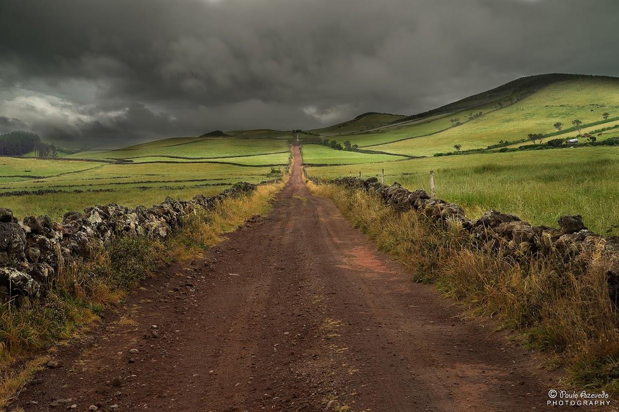 Estrada na Ilha de São Jorge, Açores