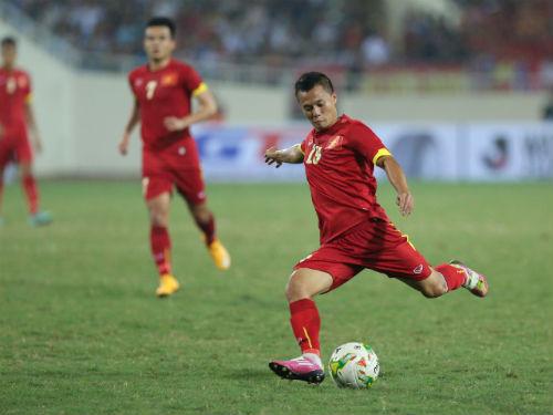 Học Ronaldo tiền vệ Thành Lương muốn thành vua sút xa