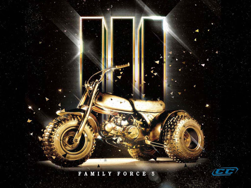 Family Force 5 - III 2011 English Christian Album