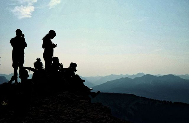 Foto Puncak Gunung Salju Coalbank Pass, Wisata Untuk Pendaki