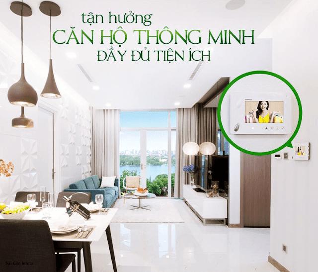 Căn hộ thông minh dự án Amber Riverside MInh Khai