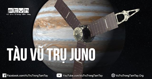 [Ftvh] Những điều bạn nên biết về tàu vũ trụ Juno.