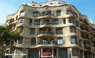 barcelona spain gaudì