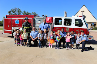 Catholic's K4 & K5 Class Gets a Special Lesson in Fire Safety 3