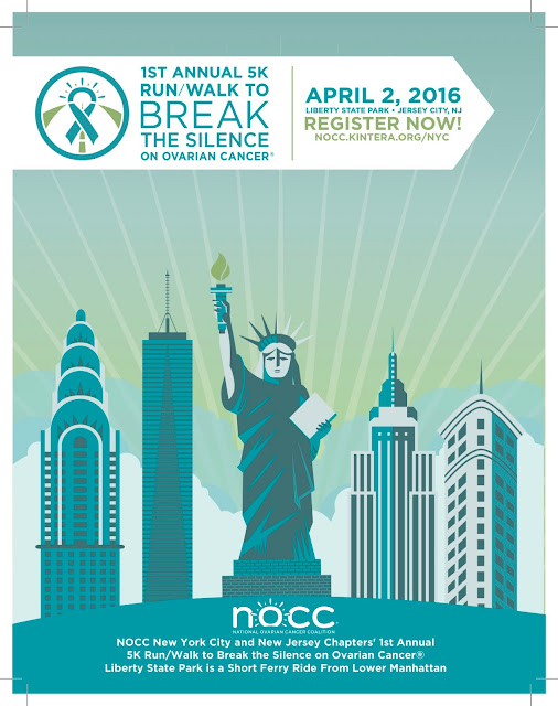 NOCC 5K Walk/Run Break the Silence Poster